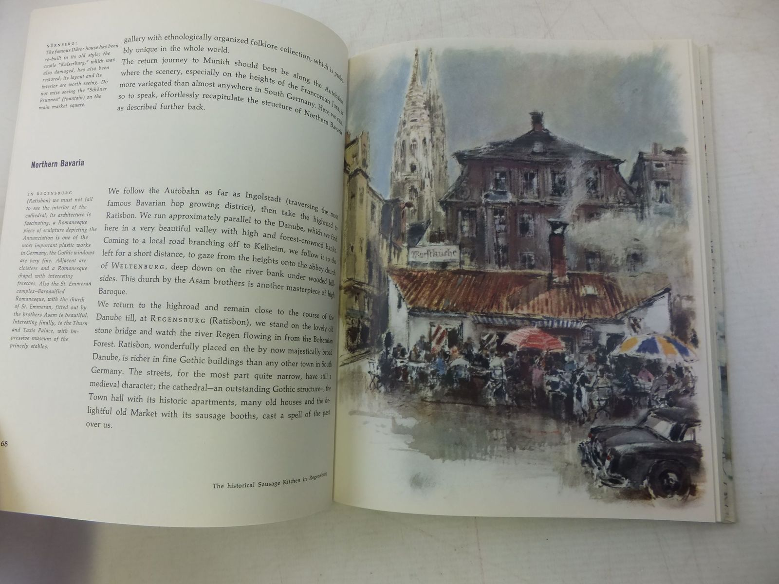 Photo of GERMANY - OFF THE BEATEN TRACK written by Friedrich, Hans Eberhard illustrated by Liska, Hans published by Verlag Mensch, Arbeit Munich (STOCK CODE: 1711390)  for sale by Stella & Rose's Books