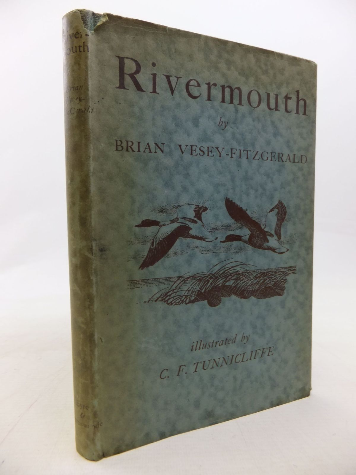 Photo of RIVERMOUTH written by Vesey-Fitzgerald, Brian illustrated by Tunnicliffe, C.F. published by Eyre & Spottiswoode (STOCK CODE: 1711670)  for sale by Stella & Rose's Books
