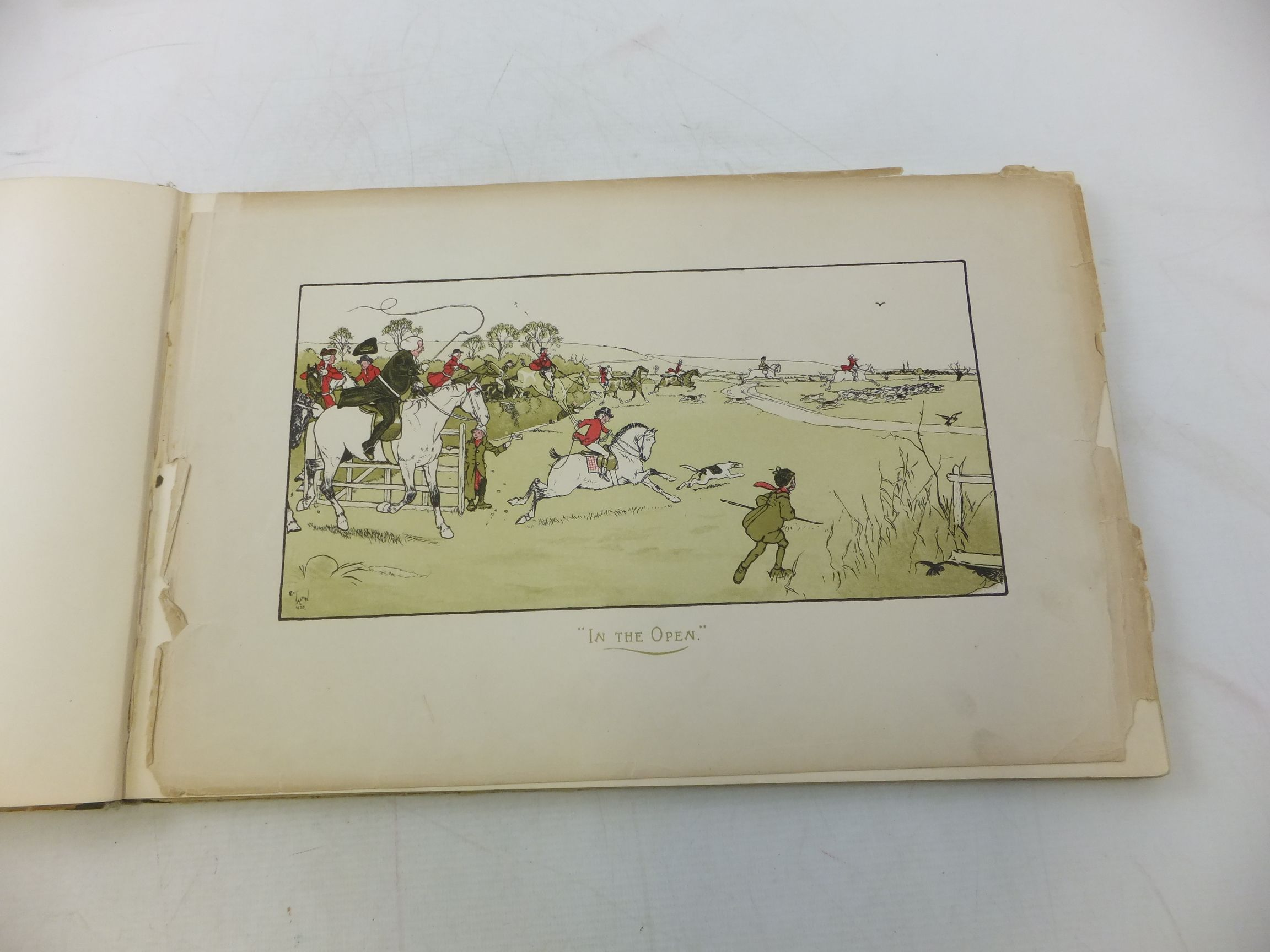 Photo of A SPORTING GARLAND illustrated by Aldin, Cecil published by Sands & Co. (STOCK CODE: 1711743)  for sale by Stella & Rose's Books