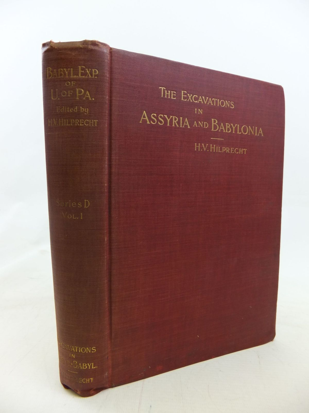 Photo of THE EXCAVATIONS IN ASSYRIA AND BABYLONIA- Stock Number: 1711746