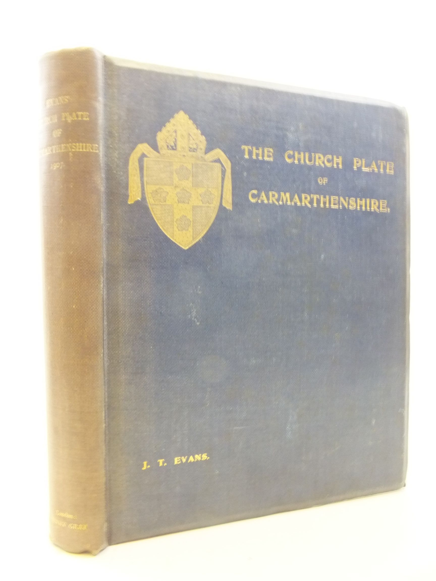 Photo of THE CHURCH PLATE OF CARMARTHENSHIRE written by Evans, J.T. published by Henry Gray (STOCK CODE: 1711779)  for sale by Stella & Rose's Books