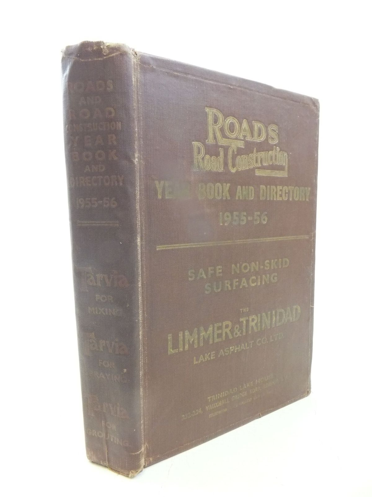 Photo of ROADS AND ROADS CONSTRUCTION YEAR BOOK & DIRECTORY 1955-56- Stock Number: 1711976