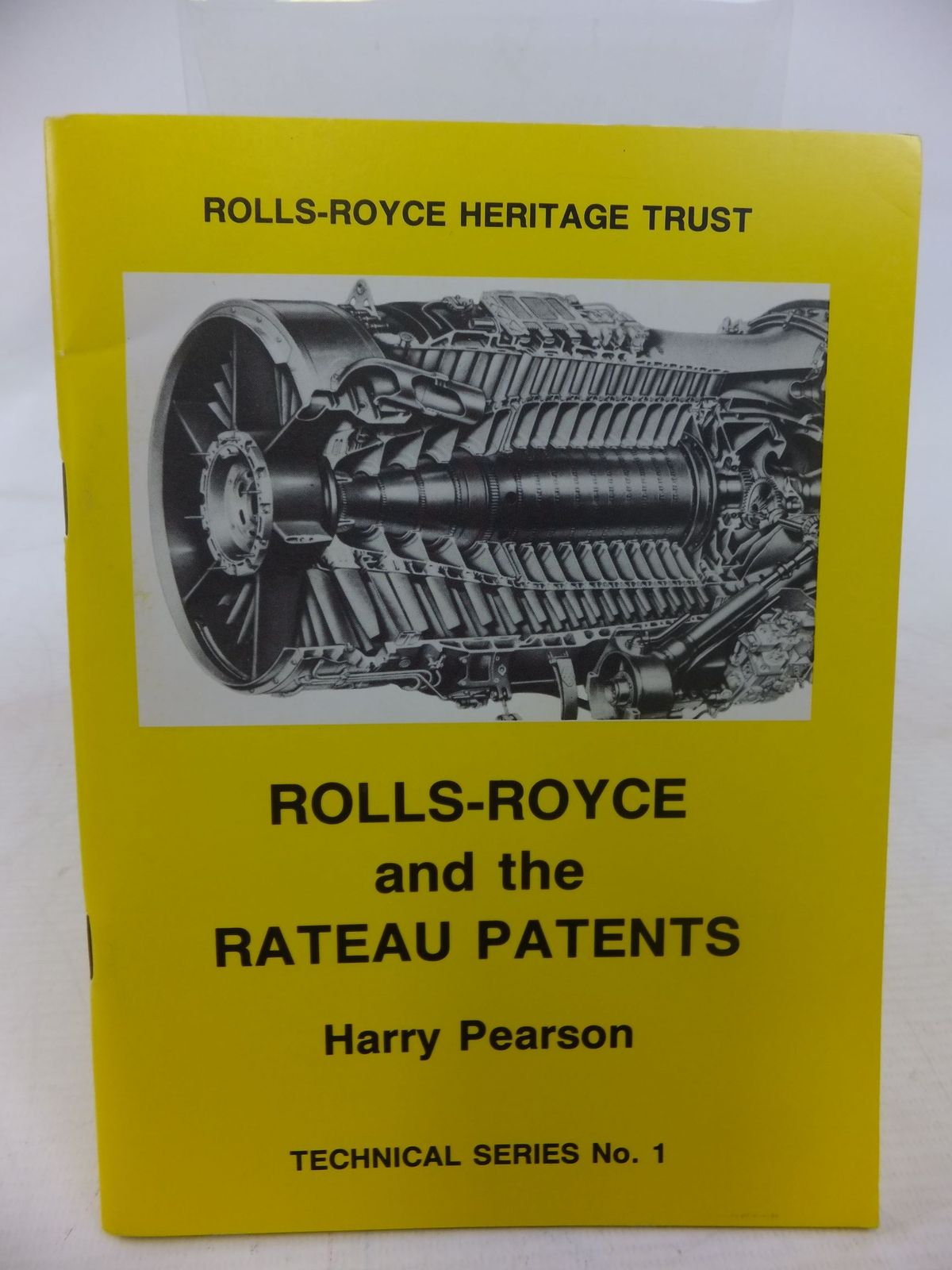 Photo of ROLLS-ROYCE AND THE RATEAU PATENTS- Stock Number: 1712144