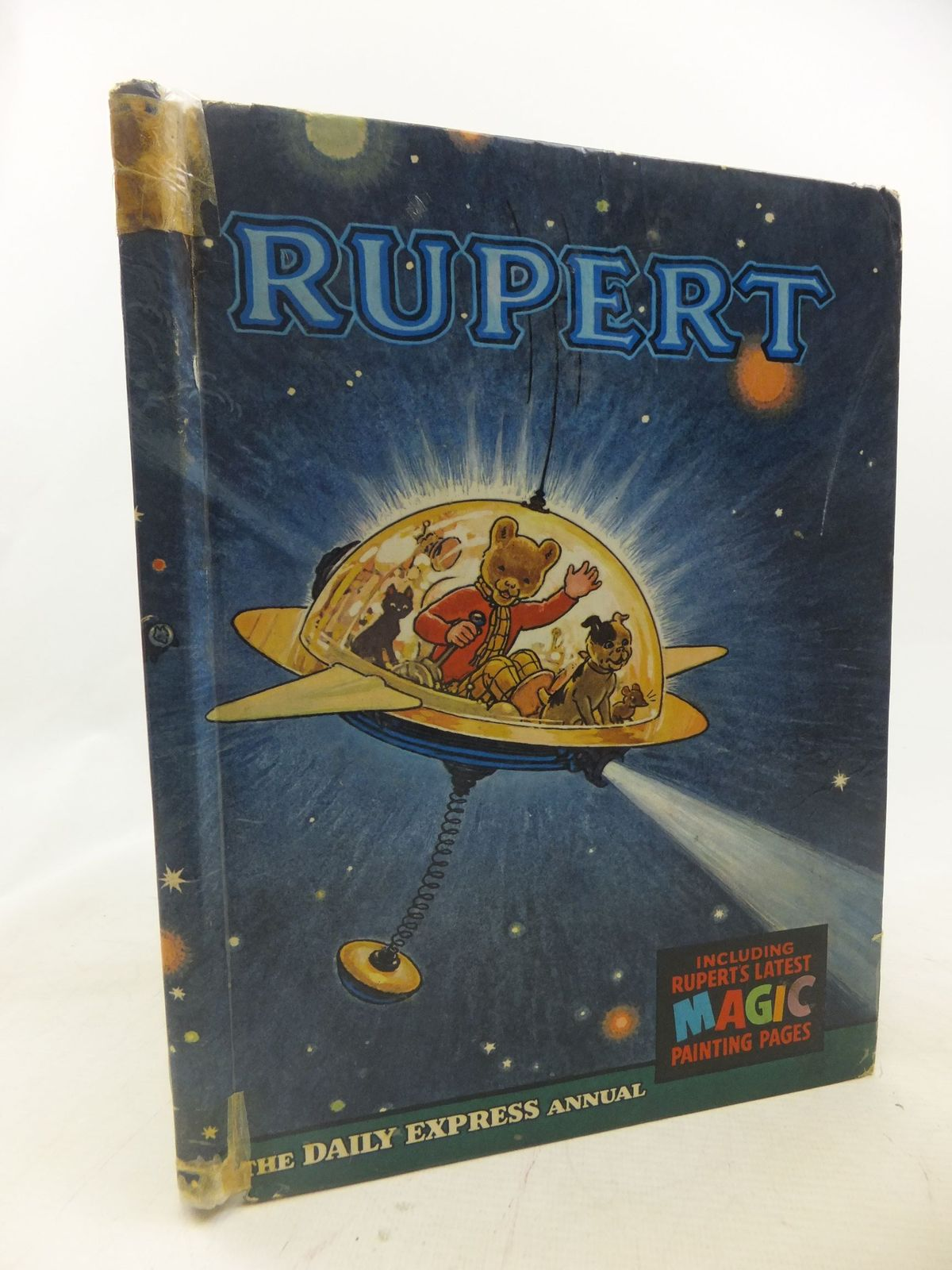 Photo of RUPERT ANNUAL 1966 written by Bestall, Alfred illustrated by Bestall, Alfred published by Daily Express (STOCK CODE: 1712305)  for sale by Stella & Rose's Books