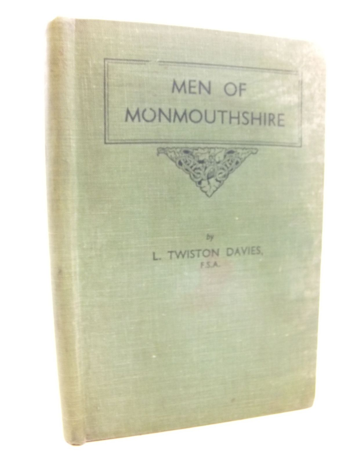 Photo of MEN OF MONMOUTHSHIRE written by Davies, Leonard Twiston published by Western Mail And Echo Limited (STOCK CODE: 1712718)  for sale by Stella & Rose's Books