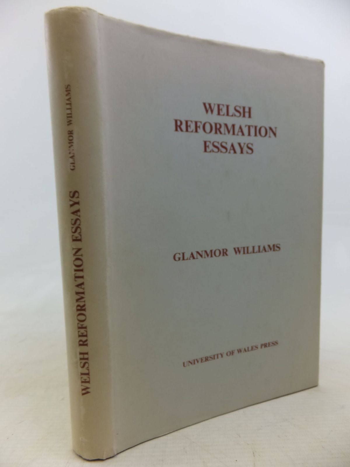 Photo of WELSH REFORMATION ESSAYS written by Williams, Glanmor published by University of Wales (STOCK CODE: 1712816)  for sale by Stella & Rose's Books