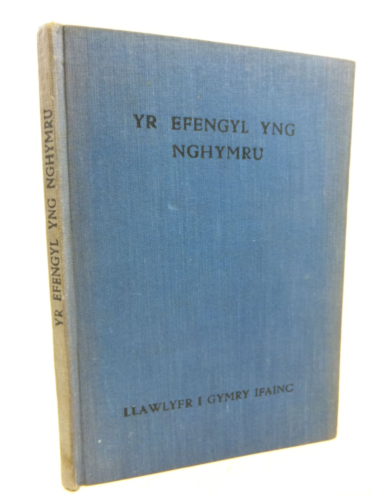 Photo of YR EFENGYL YNG NGHYMRU: LLAWLYFR I GYMRY IFAINC written by Davies, T. Alban et al, published by Llyfra'r Annibynwyr (STOCK CODE: 1712846)  for sale by Stella & Rose's Books