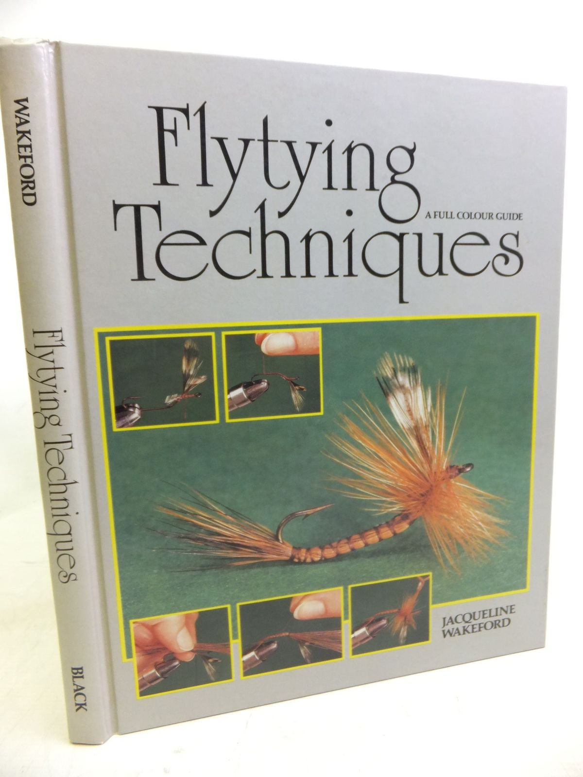 Photo of FLYTYING TECHNIQUES A FULL COLOUR GUIDE- Stock Number: 1713125