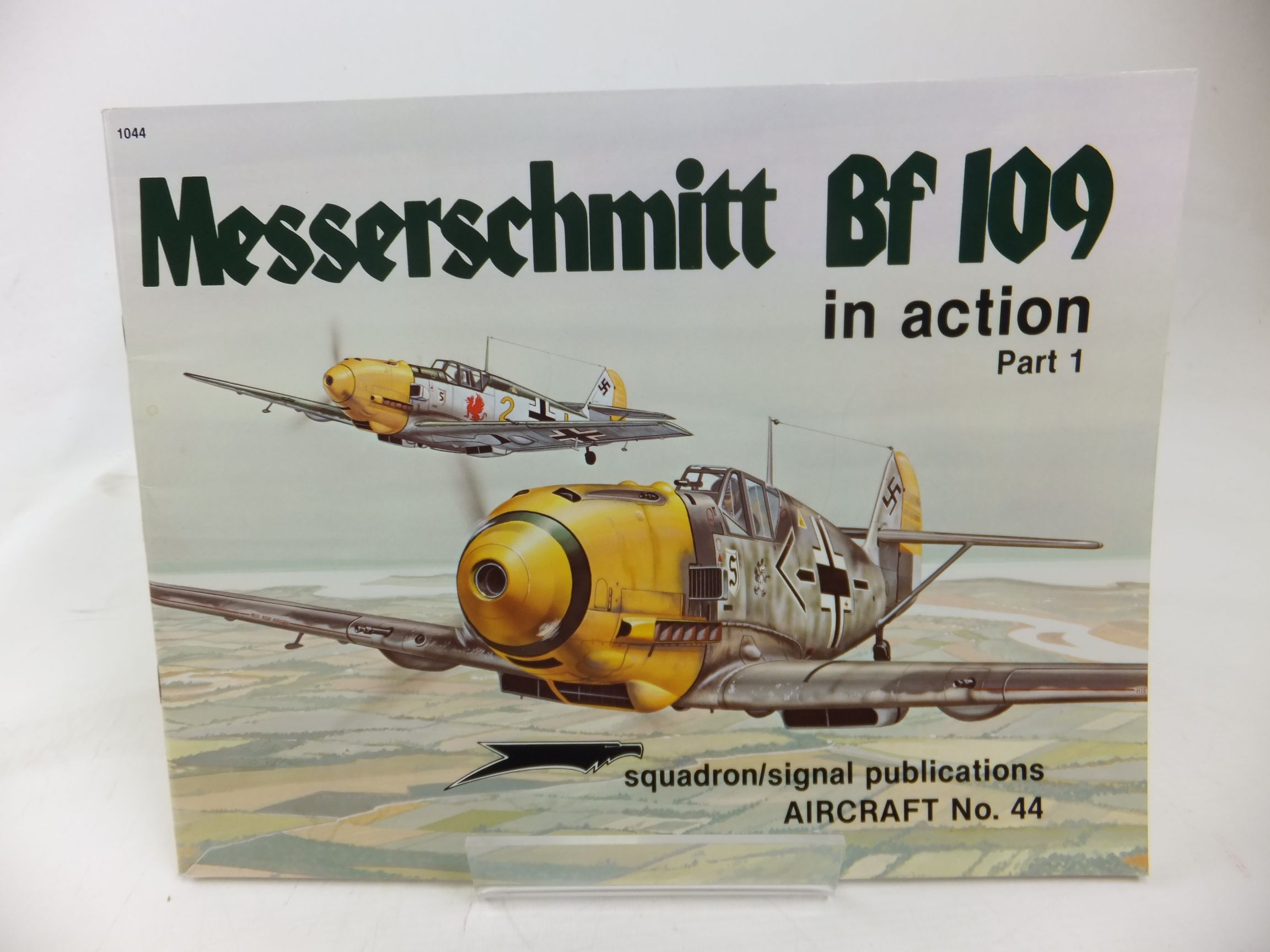 Photo of MESSERSCHMITT BF 109 IN ACTION PART 1 written by Beaman, John R. Campbell, Jerry L. published by Squadron Signal Publications (STOCK CODE: 1713319)  for sale by Stella & Rose's Books