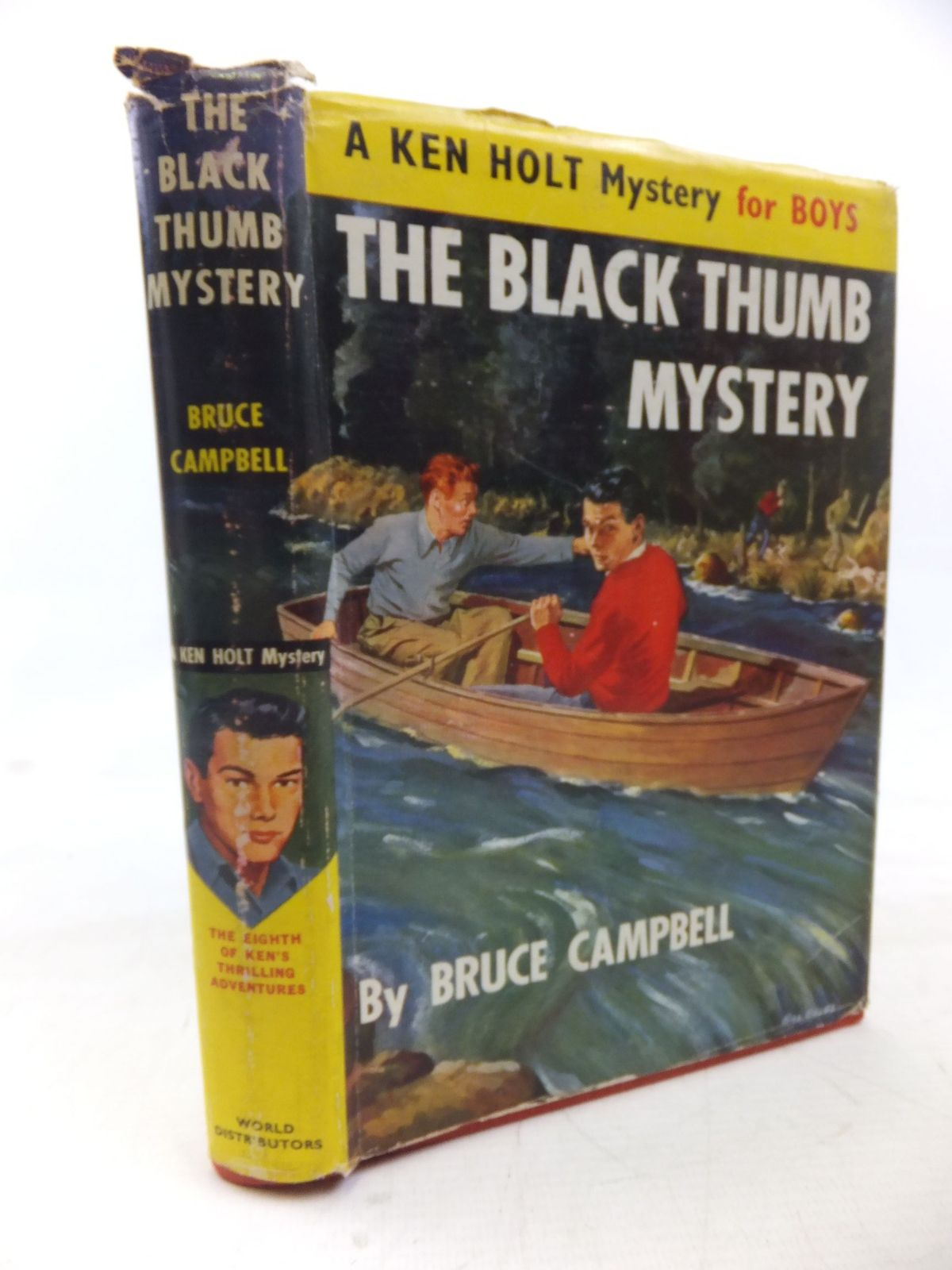 Photo of THE BLACK THUMB MYSTERY written by Campbell, Bruce published by World Distributors Ltd. (STOCK CODE: 1713416)  for sale by Stella & Rose's Books
