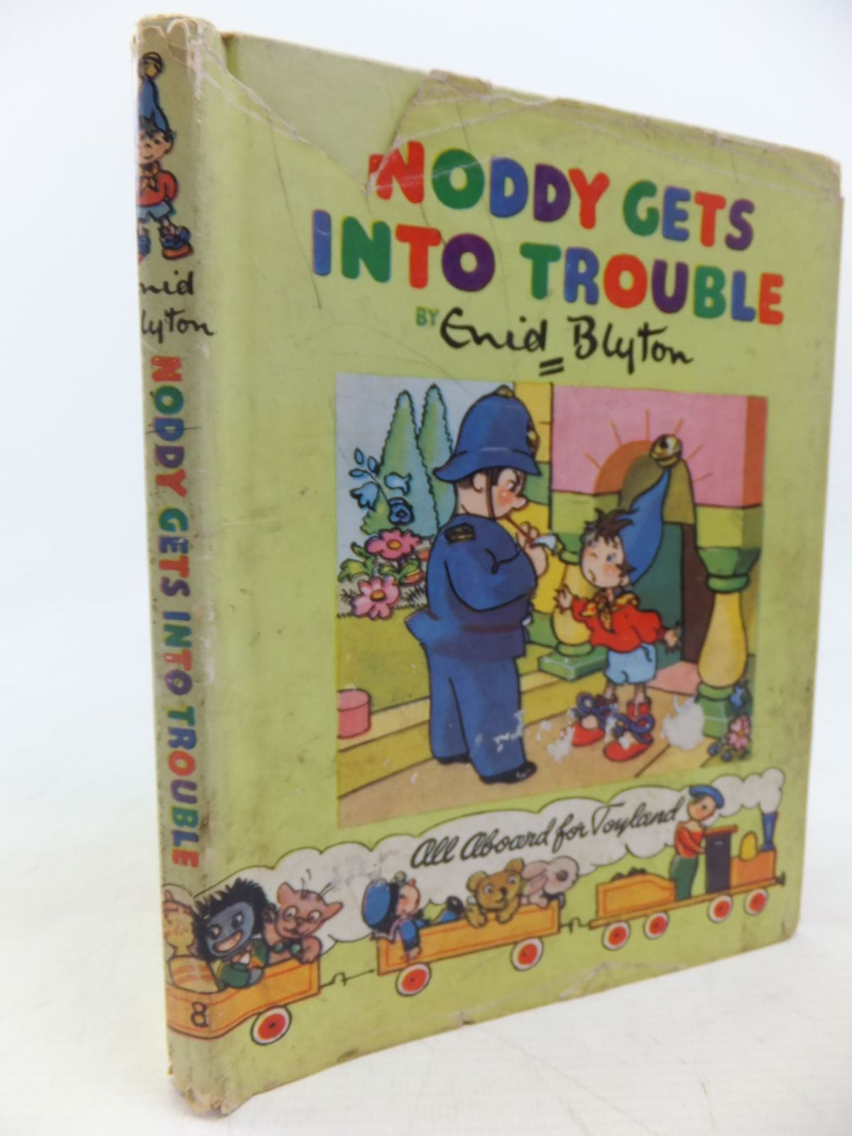 Photo of NODDY GETS INTO TROUBLE written by Blyton, Enid illustrated by Brooks, Mary published by Sampson Low, Marston & Co. Ltd., C.A. Publications Ltd. (STOCK CODE: 1713432)  for sale by Stella & Rose's Books