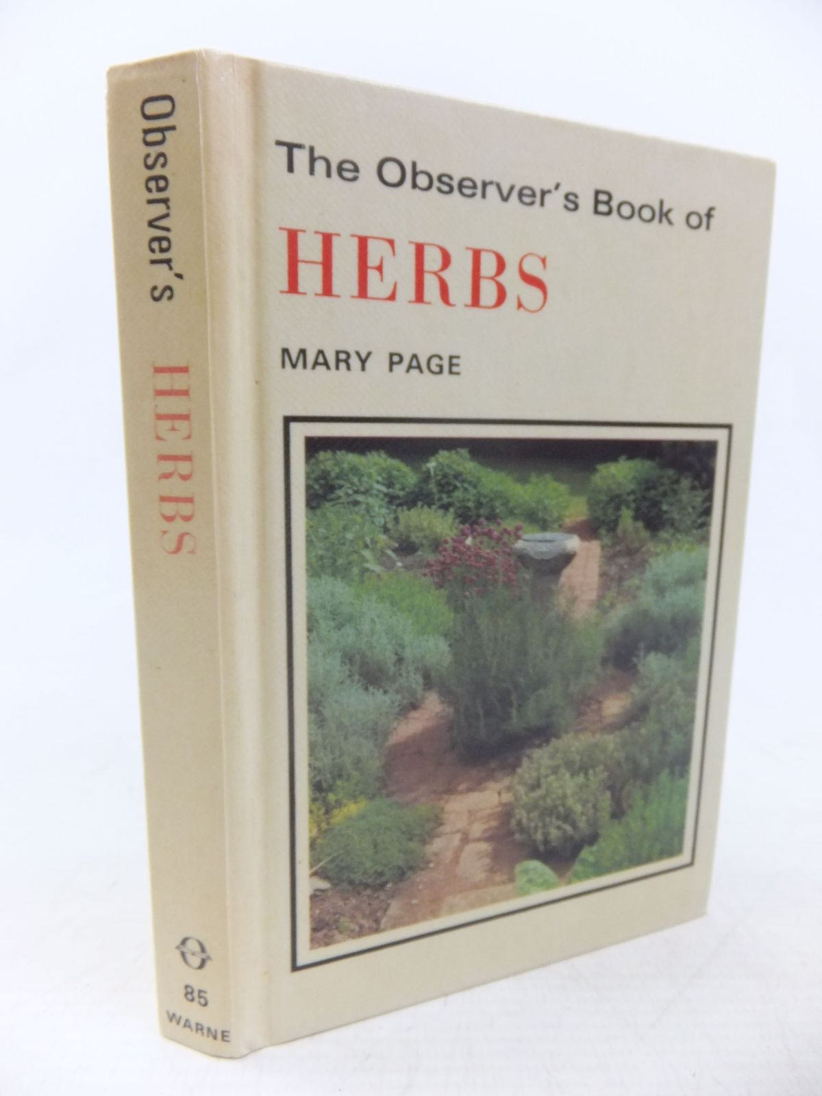 Photo of THE OBSERVER'S BOOK OF HERBS- Stock Number: 1713558