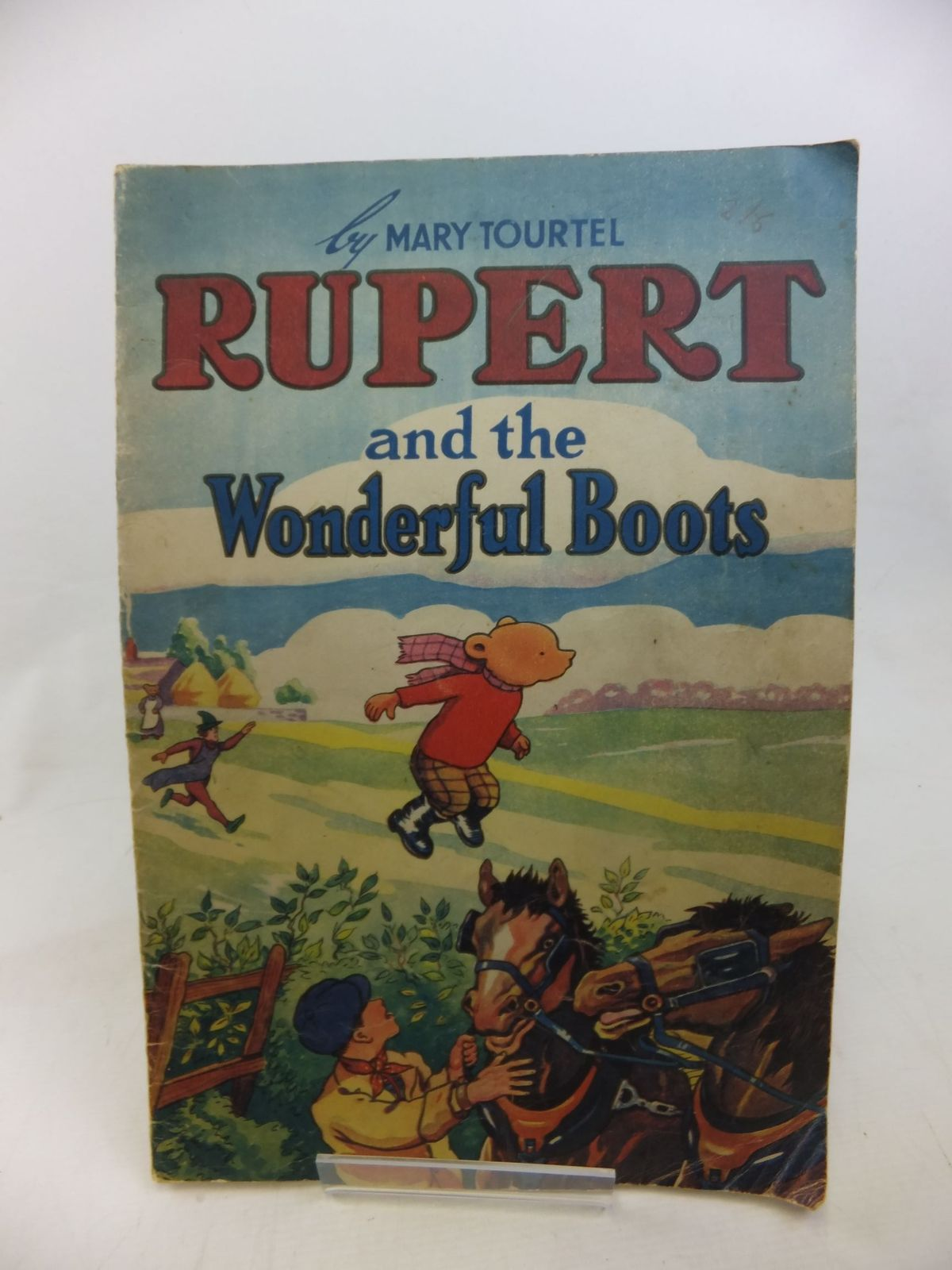 Photo of RUPERT AND THE WONDERFUL BOOTS- Stock Number: 1713587