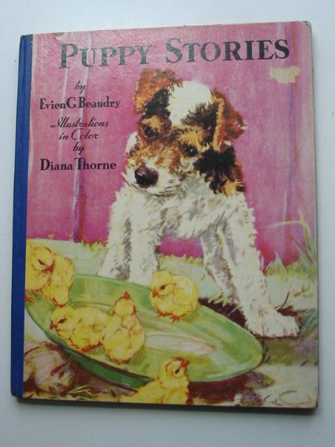 Photo of PUPPY STORIES written by Beaudry, Evien G. illustrated by Thorne, Diana published by The Saalfield Publishing Company (STOCK CODE: 1801113)  for sale by Stella & Rose's Books