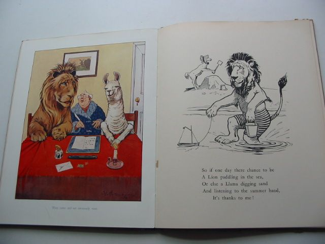 Photo of UNCLE'S ANIMAL BOOK written by Studdy, G.E. illustrated by Studdy, G.E. published by Frederick Warne & Co Ltd. (STOCK CODE: 1801114)  for sale by Stella & Rose's Books