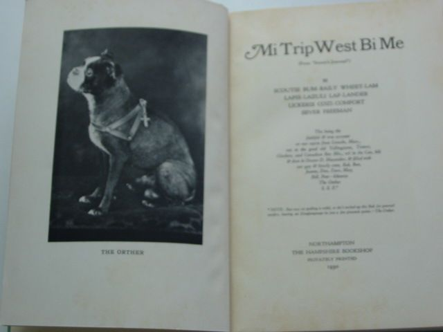 Photo of MI TRIP WEST BI ME written by Hale Freeman, Ethel published by The Hampshire Bookshop (STOCK CODE: 1801122)  for sale by Stella & Rose's Books