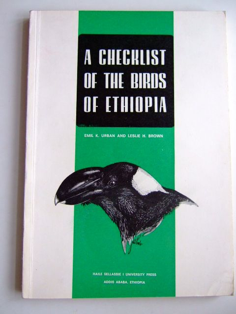 Photo of A CHECKLIST OF THE BIRDS OF ETHIOPIA- Stock Number: 1803238
