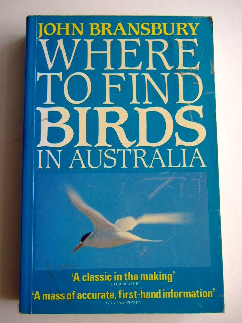 Photo of WHERE TO FIND BIRDS IN AUSTRALIA written by Bransbury, John published by Hutchinson Australia (STOCK CODE: 1803382)  for sale by Stella & Rose's Books