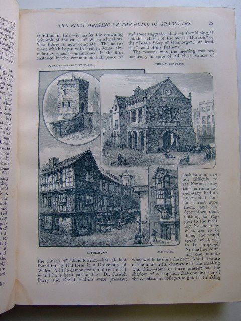 Photo of WALES A NATIONAL MAGAZINE FOR THE ENGLISH SPEAKING PARTS OF WALES VOL I written by Edwards, Owen M. published by Hughes & Son (STOCK CODE: 1803708)  for sale by Stella & Rose's Books