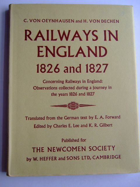 Photo of RAILWAYS IN ENGLAND 1826 AND 1827- Stock Number: 1803824