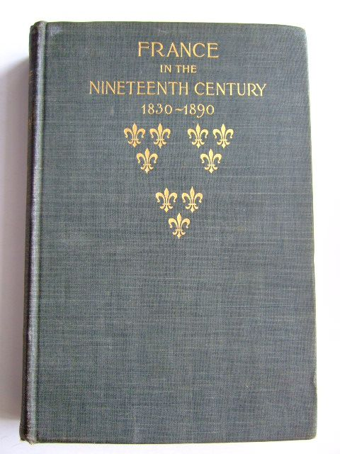 Photo of FRANCE IN THE NINETEENTH CENTURY 1830-1890- Stock Number: 1803845