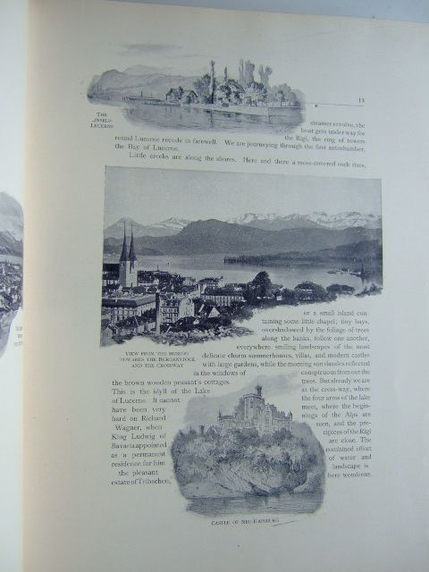 Photo of THE LAKE OF LUCERNE AND THE FOREST CANTONS written by Heer, J.C. published by Th. Shroter (STOCK CODE: 1803903)  for sale by Stella & Rose's Books