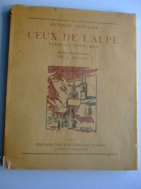 Photo of CEUX DE L'ALPE TYPES ET COUTUMES- Stock Number: 1803943