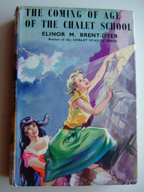 Photo of THE COMING OF AGE OF THE CHALET SCHOOL written by Brent-Dyer, Elinor M. illustrated by Brook, D. published by W. & R. Chambers Limited (STOCK CODE: 1804080)  for sale by Stella & Rose's Books