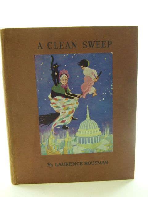 Photo of A CLEAN SWEEP THE TALE OF A CAT AND A BROOMSTICK written by Housman, Laurence illustrated by Smith, May published by Basil Blackwell (STOCK CODE: 1805081)  for sale by Stella & Rose's Books