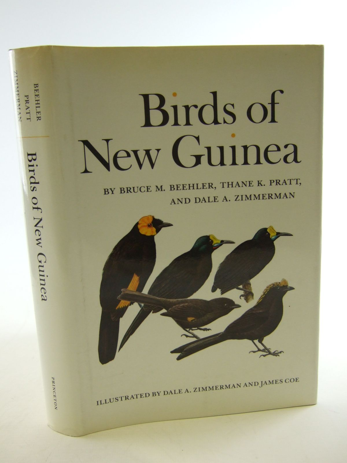 Photo of BIRDS OF NEW GUINEA written by Beehler, Bruce M. Pratt, Thane K. Zimmerman, Dale A. illustrated by Zimmerman, Dale A. James Coe,  published by Princeton University Press (STOCK CODE: 1805130)  for sale by Stella & Rose's Books