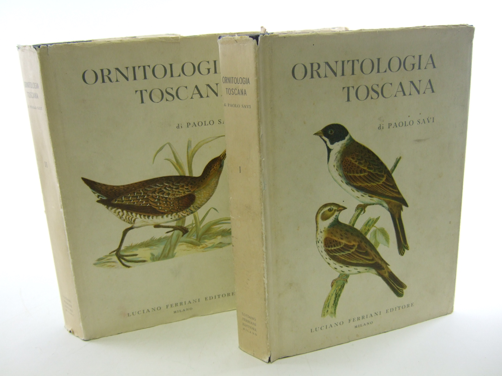 Photo of ORNITOLOGIA TOSCANA 2 VOLUMES written by Savi, Paolo published by Luciano Ferriani Editore (STOCK CODE: 1805135)  for sale by Stella & Rose's Books