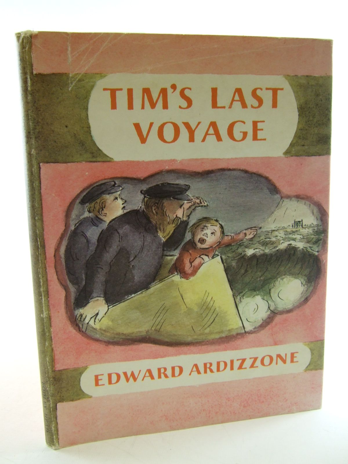 Photo of TIM'S LAST VOYAGE written by Ardizzone, Edward illustrated by Ardizzone, Edward published by The Bodley Head (STOCK CODE: 1805216)  for sale by Stella & Rose's Books