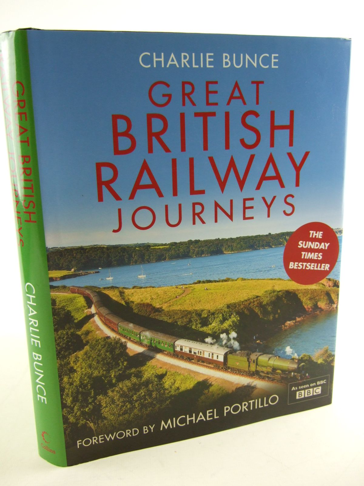 Photo of GREAT BRITISH RAILWAY JOURNEYS written by Bunce, Charlie published by Collins (STOCK CODE: 1805338)  for sale by Stella & Rose's Books