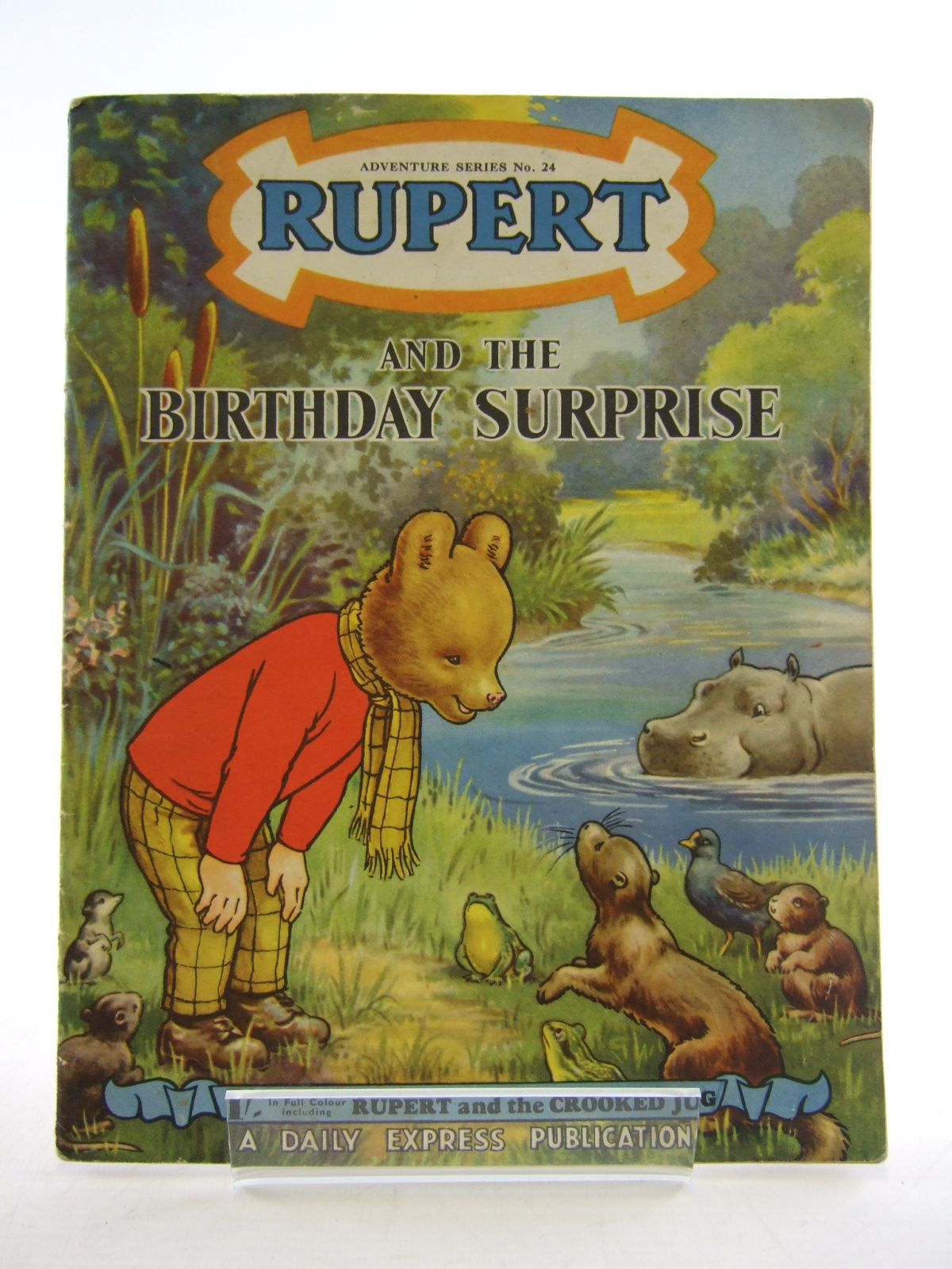 Photo of RUPERT ADVENTURE SERIES No. 24 - RUPERT AND THE BIRTHDAY SURPRISE written by Bestall, Alfred published by Daily Express (STOCK CODE: 1805370)  for sale by Stella & Rose's Books