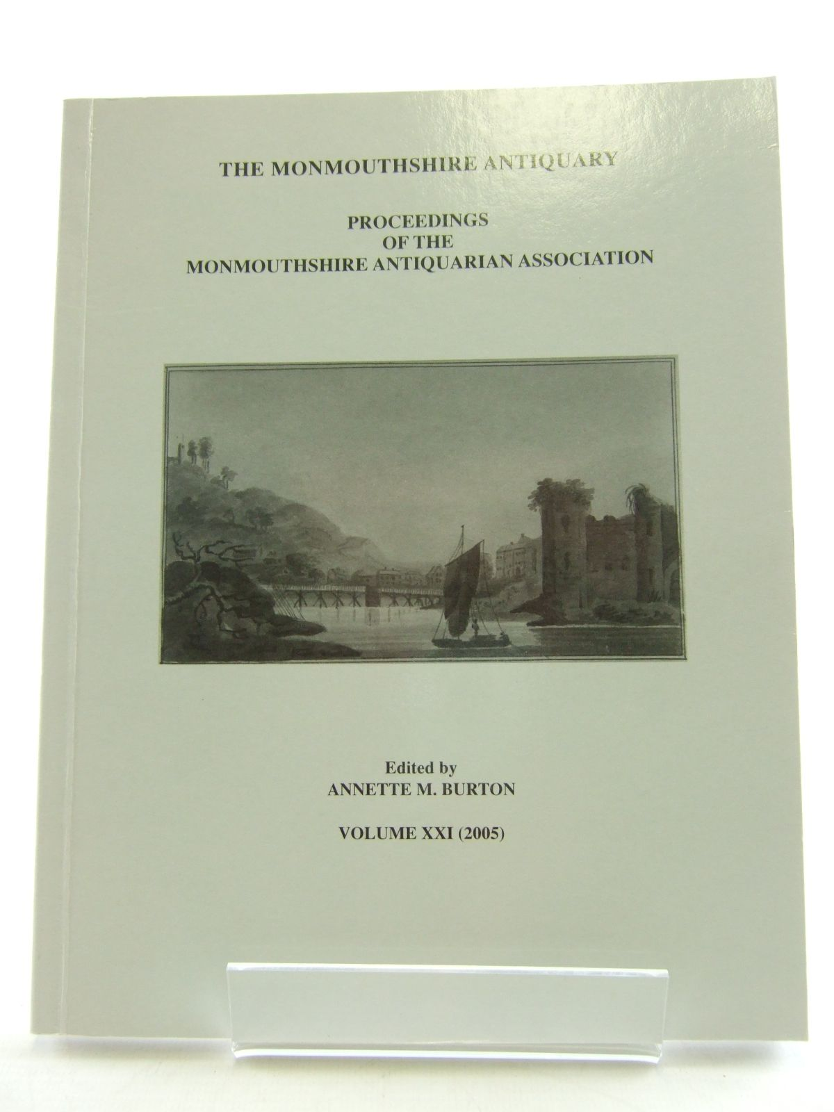 Photo of THE MONMOUTHSHIRE ANTIQUARY VOLUME XXI written by Burton, Annette M. published by Monmouthshire Antiquarian Association (STOCK CODE: 1805772)  for sale by Stella & Rose's Books