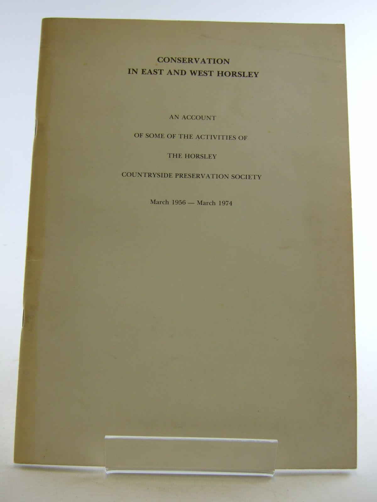 Photo of CONSERVATION IN EAST AND WEST HORSLEY- Stock Number: 1806034