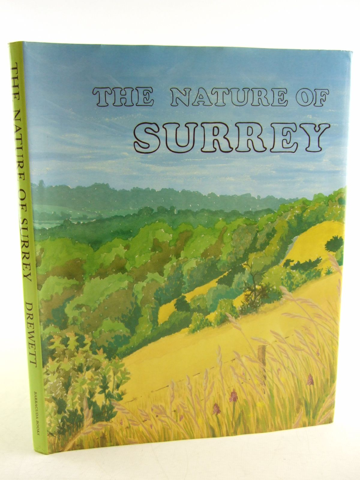 Photo of THE NATURE OF SURREY written by Drewett, John illustrated by Thompson, Rosalie S. et al.,  published by Barracuda Books (STOCK CODE: 1806210)  for sale by Stella & Rose's Books