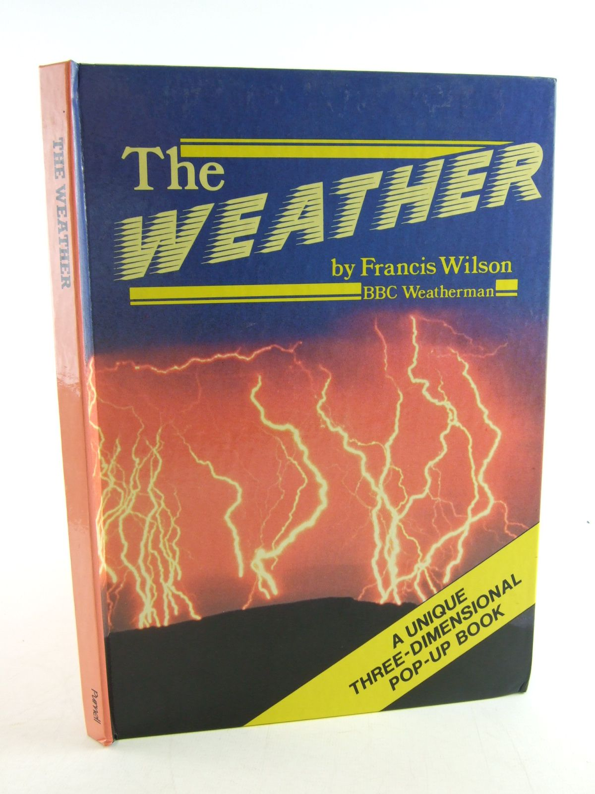 Photo of THE WEATHER written by Wilson, Francis illustrated by Jacobs, Philip published by Macdonald & Co. (Publishers) Ltd., Purnell (STOCK CODE: 1806514)  for sale by Stella & Rose's Books