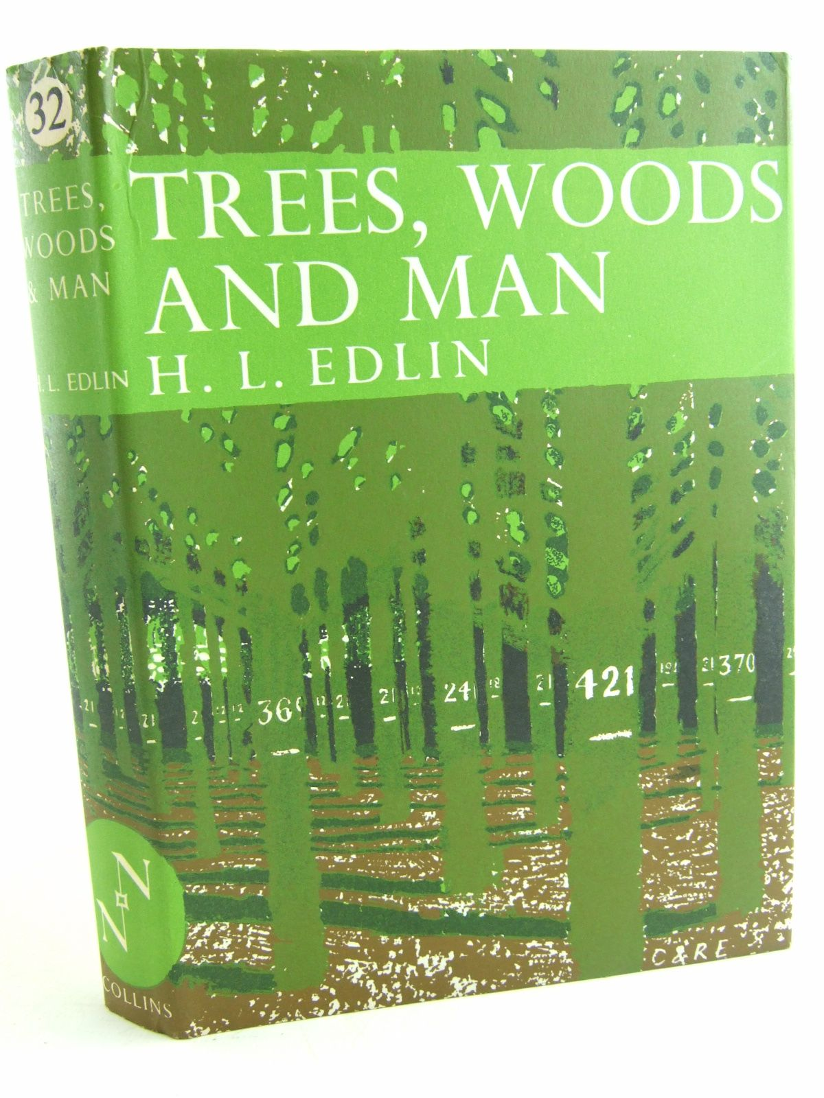 Photo of TREES WOODS AND MAN (NN 32) written by Edlin, Herbert L. published by Collins (STOCK CODE: 1806531)  for sale by Stella & Rose's Books