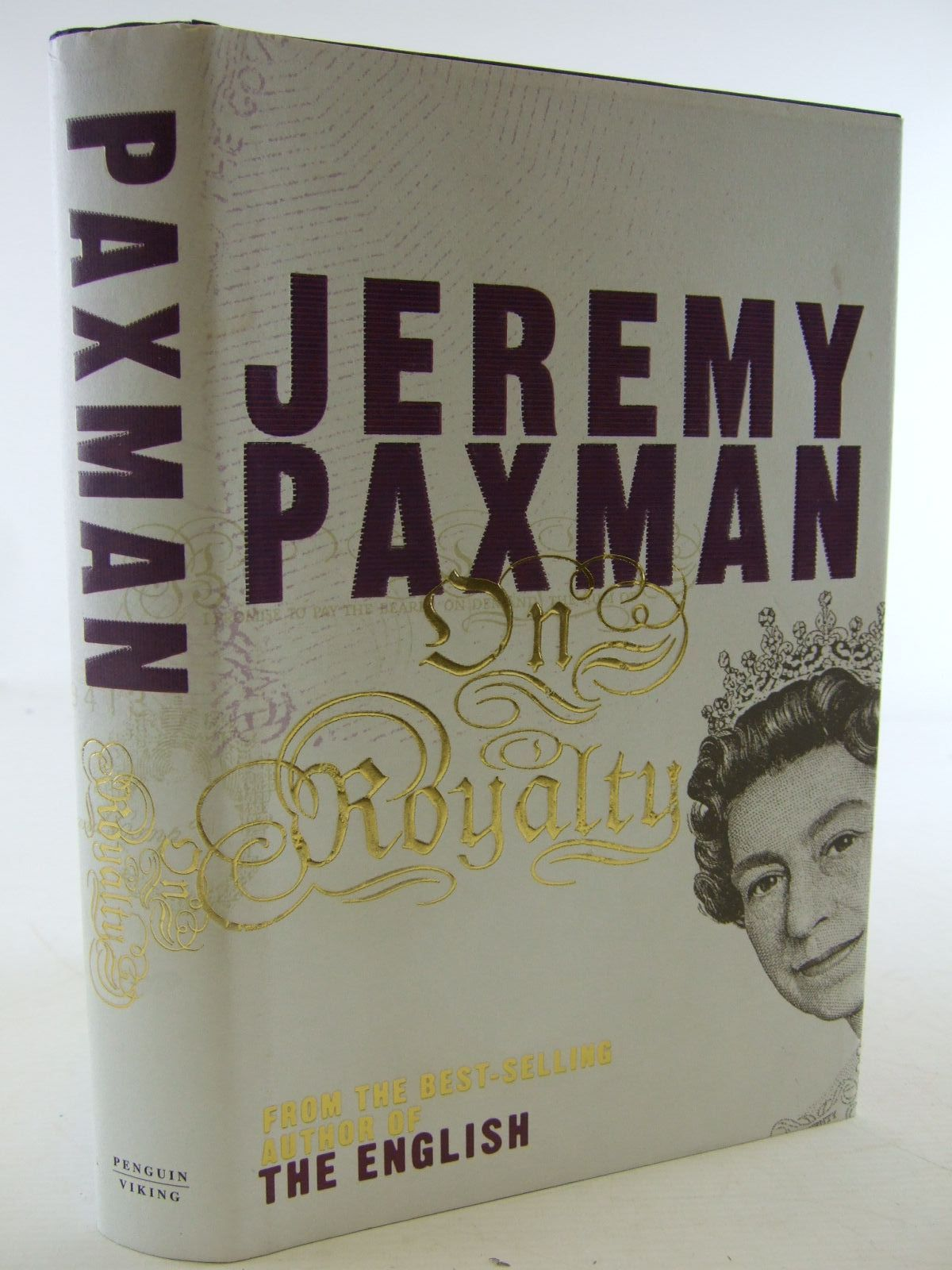 Photo of ON ROYALTY written by Paxman, Jeremy published by Viking (STOCK CODE: 1806761)  for sale by Stella & Rose's Books