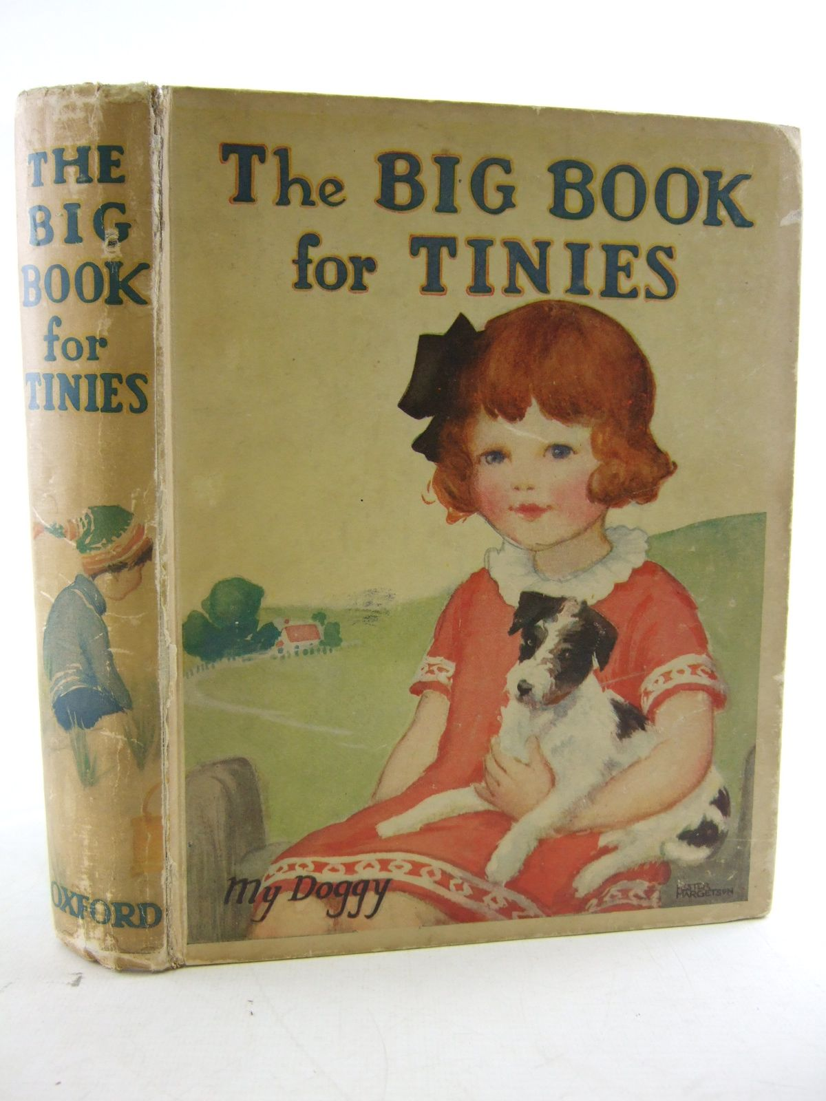Photo of THE BIG BOOK FOR TINIES written by Strang, Mrs. Herbert et al,  illustrated by Sowerby, Millicent et al.,  published by Humphrey Milford, Oxford University Press (STOCK CODE: 1806827)  for sale by Stella & Rose's Books