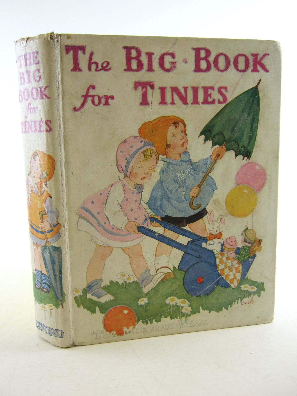 Photo of THE BIG BOOK FOR TINIES written by Strang, Mrs. Herbert published by Humphrey Milford, Oxford University Press (STOCK CODE: 1806834)  for sale by Stella & Rose's Books