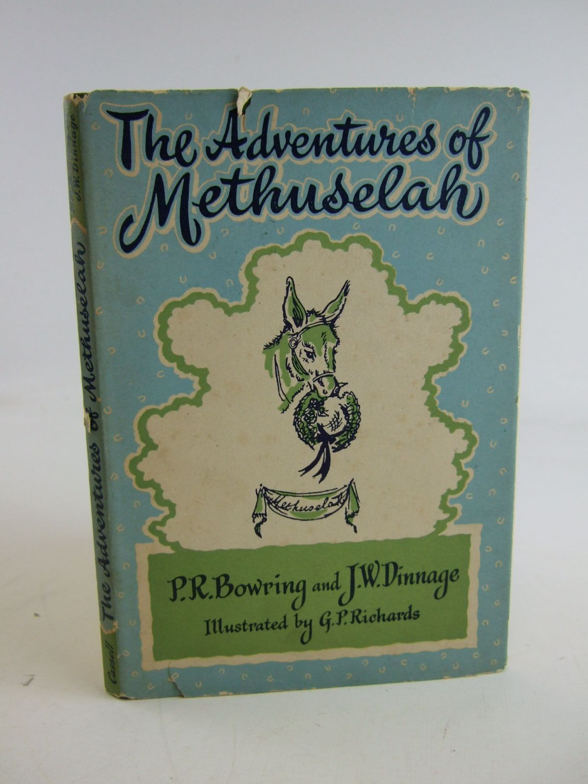 Photo of THE ADVENTURES OF METHUSELAH written by Bowring, P.R. Dinnage, J.W. illustrated by Richards, G.P. published by Cassell & Company Ltd (STOCK CODE: 1807051)  for sale by Stella & Rose's Books