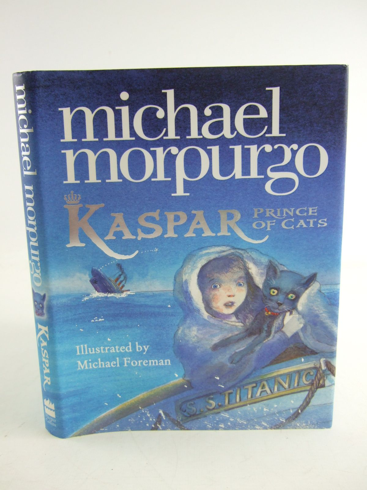 Photo of KASPAR PRINCE OF CATS written by Morpurgo, Michael illustrated by Foreman, Michael published by Harper Collins (STOCK CODE: 1807063)  for sale by Stella & Rose's Books
