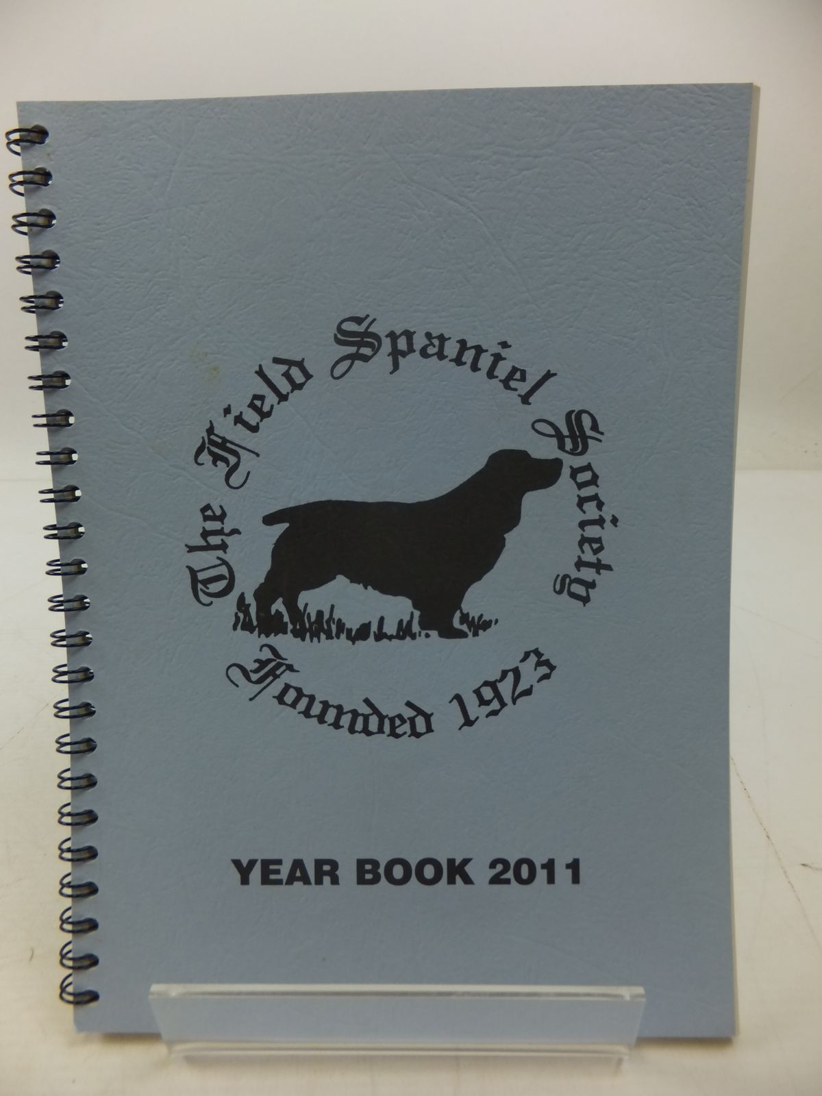 Photo of THE FIELD SPANIEL SOCIETY YEAR BOOK 2011- Stock Number: 1807625