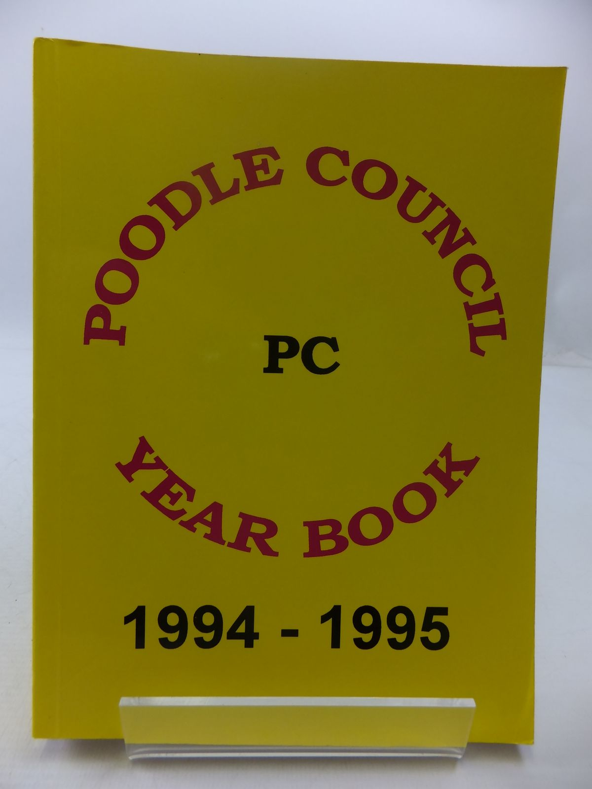 Photo of POODLE COUNCIL YEAR BOOK 1994-1995- Stock Number: 1807646