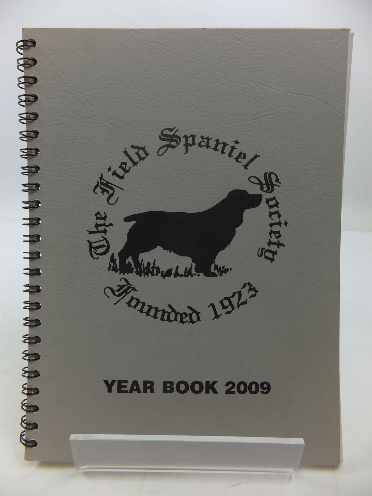 Photo of THE FIELD SPANIEL SOCIETY YEAR BOOK 2009- Stock Number: 1807656