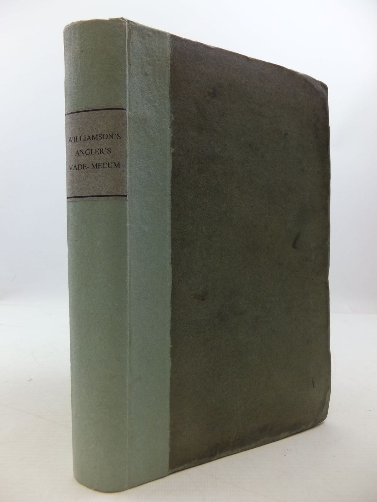 Photo of THE COMPLETE ANGLER'S VADE-MECUM written by Williamson, Capt. T. published by Payne And Mackinlay (STOCK CODE: 1807687)  for sale by Stella & Rose's Books