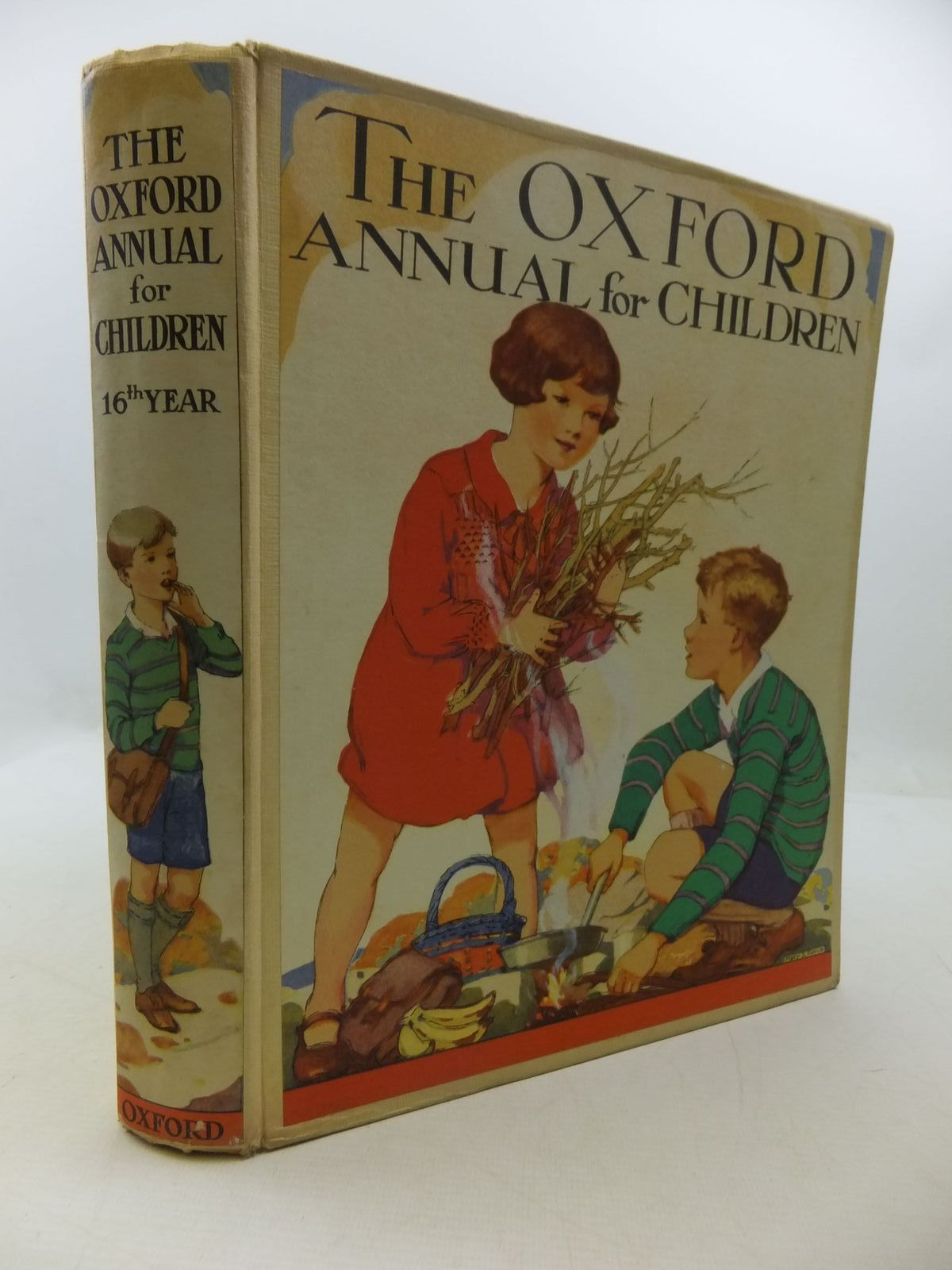 Photo of THE OXFORD ANNUAL FOR CHILDREN 16TH YEAR written by Harrison, Florence