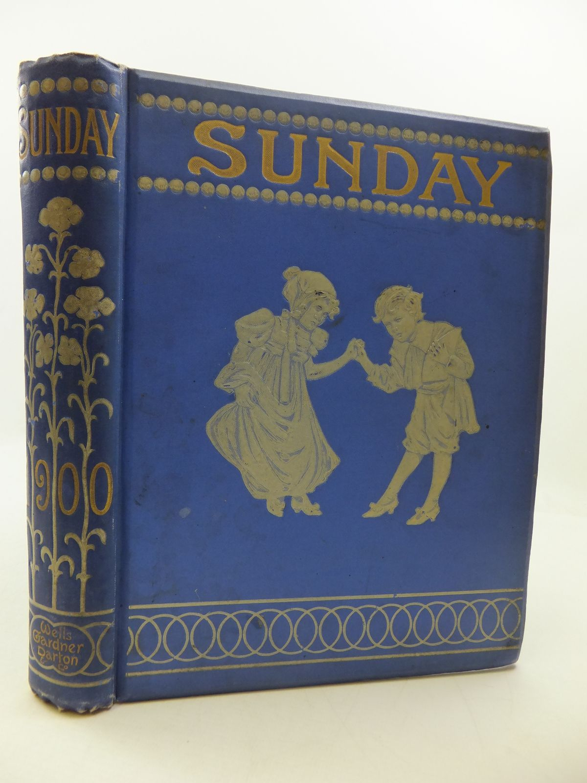 Photo of SUNDAY READING FOR THE YOUNG 1900 illustrated by Browne, Gordon Walker, A.G. Groome, W.H.C. Miles, Helen Rhead, George Woolliscroft Robinson, Charles et al.,  published by Wells Gardner, Darton & Co. (STOCK CODE: 1807714)  for sale by Stella & Rose's Books